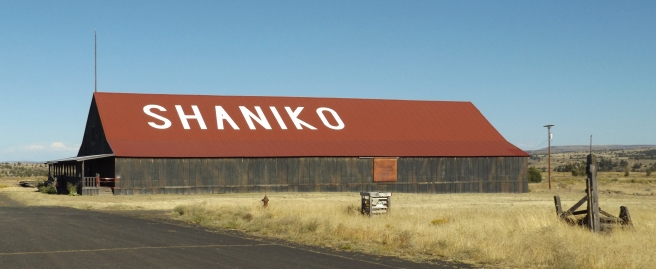Shaniko warehouse