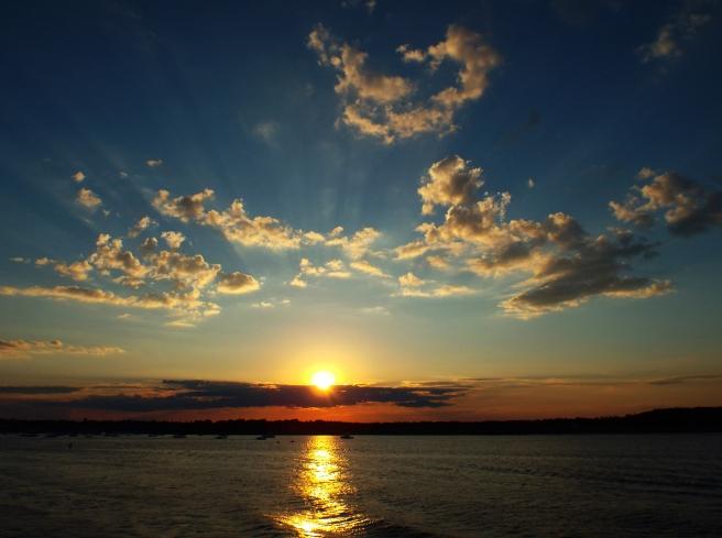 Sunset on Merrimack River