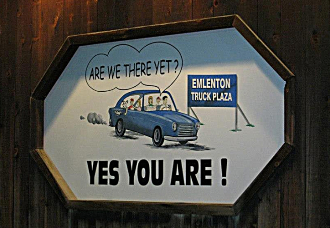 Emlenton Truck Plaza sign-small