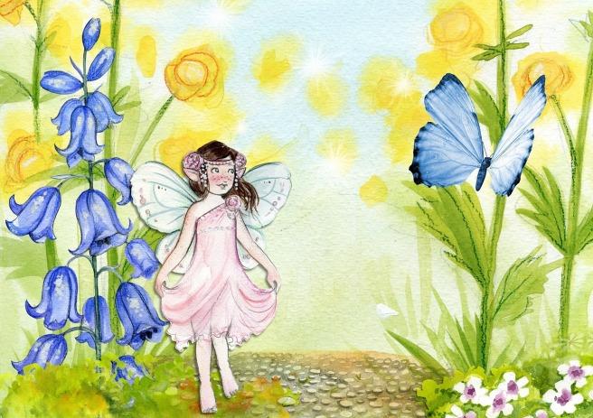 FairyFlowerButterfly-ArtsyBee