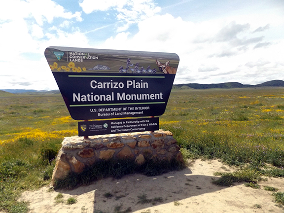 Carrizo-Plain-National-Monument-sign