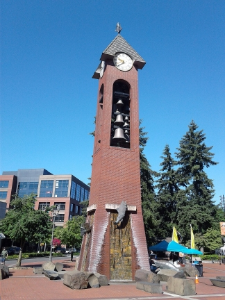Esther-Short-Park-clock-tower-Vancouver-Washington