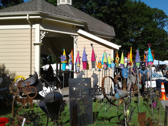 birdhouses-metal-art-vancouver-recycled-arts-festival