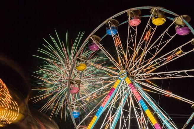 fireworks-Ferris-wheel-Yarmouth-Clam-Festival