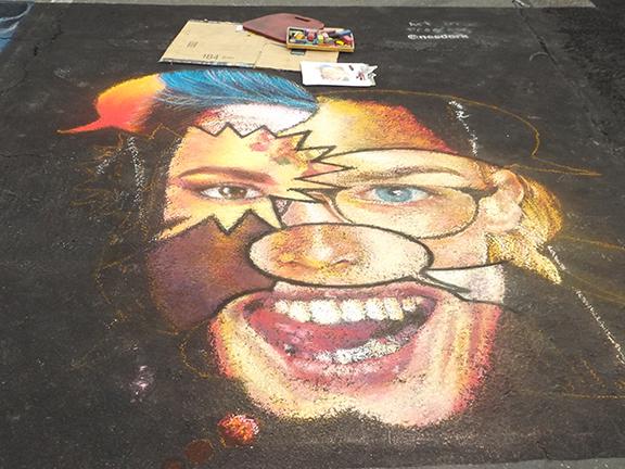 La-Strada-dei Pastelli-Chalk-Art-Festival-Beaverton2