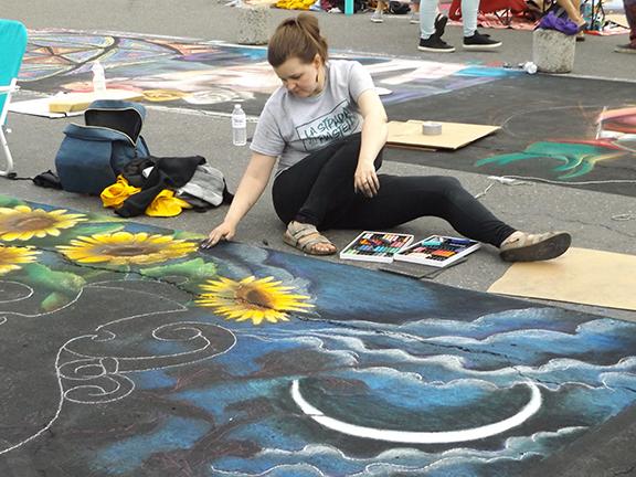 La-Strada-dei Pastelli-Chalk-Art-Festival-Beaverton3