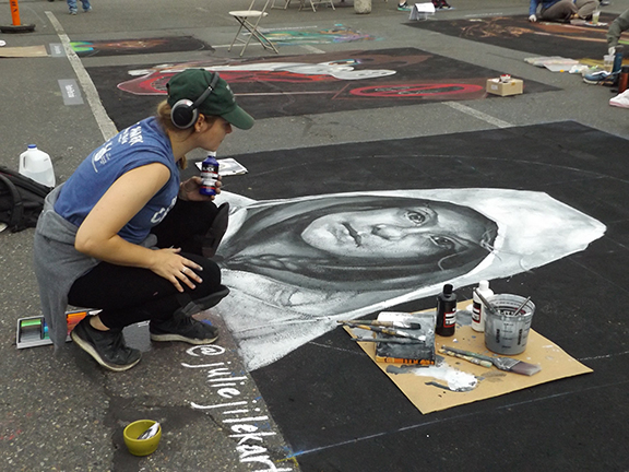 La-Strada-dei Pastelli-Chalk-Art-Festival-Beaverton4