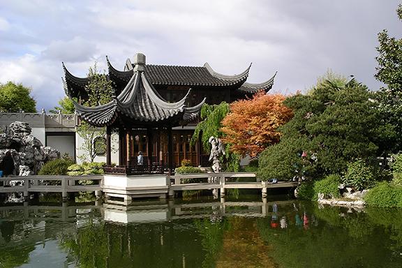 Lan Su Chinese Garden-Portland1
