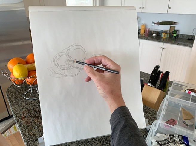 drawing-in-the-kitchen-Common-Street-Arts-Waterville-Maine