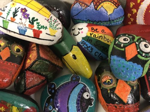 lift-up-life-painted-rock-nami