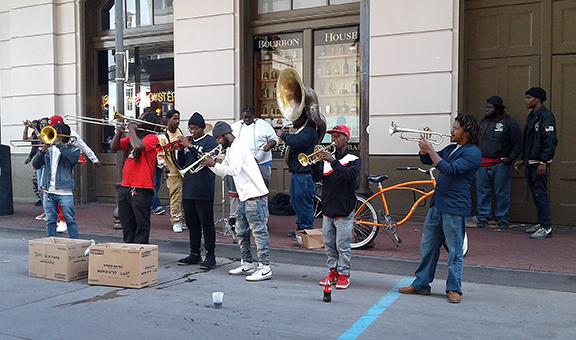 street-musicians-Bourbon-Street-New-Orleans