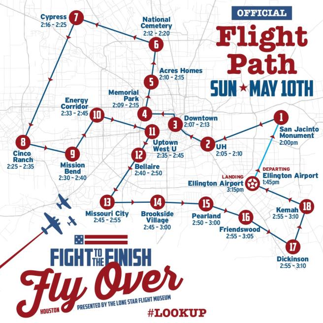 Flight-to-the-Finish-flight-pattern-Houston