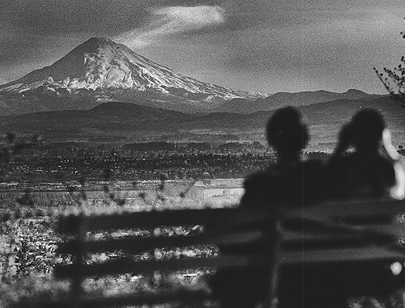 Mount-Saint-Helens-view-from-Pittock-Mantion-two-weeks-before-eruption-Oregonian