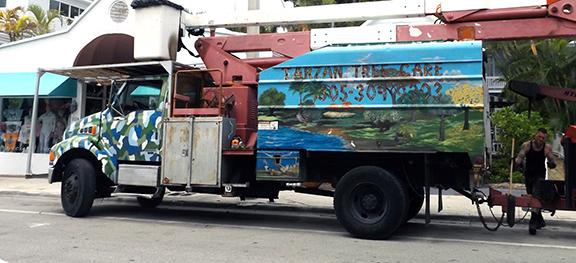 Tarzan-Tree-Care-truck-Key-West