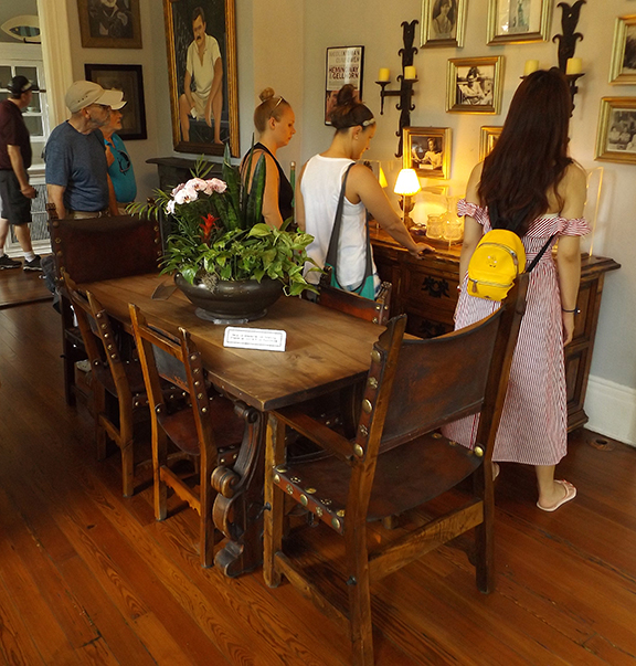 dining-room-Ernest-Hemingway-House-Museum-Key-West