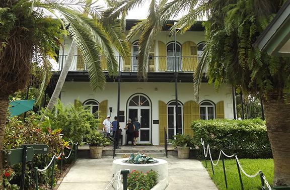 entrance-Ernest-Hemingway-House-Museum-Key-West