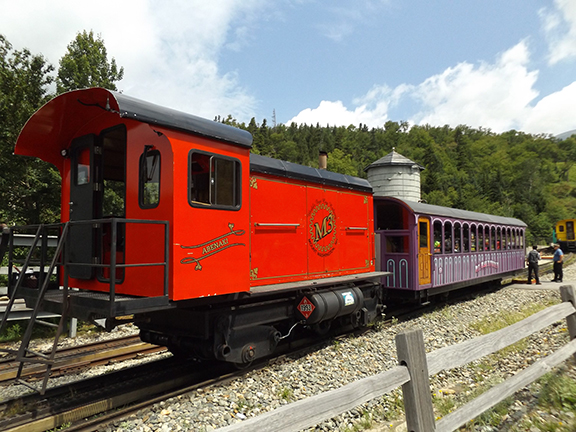Mount-Washington-Cog-Railway-diesel-train