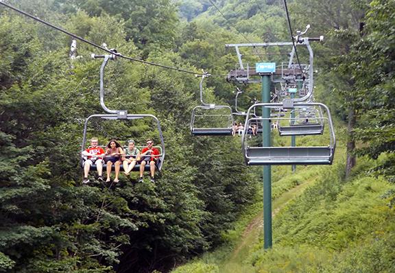 Soulfest-chairlift-to-Gunstock-Mountain-peak