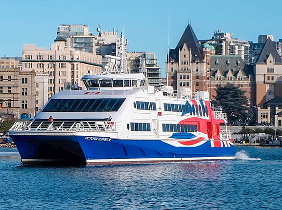 Victoria-Clipper-in-Inner-Harbour