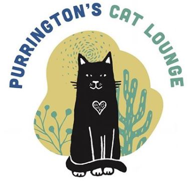 Purringtons-Cat-Lounge-logo