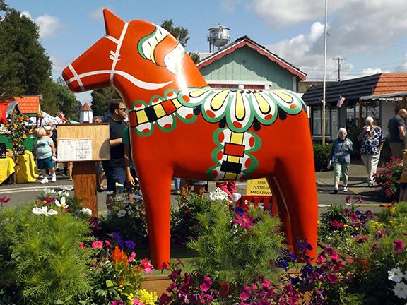 Scandinavian Festival-Dala horse