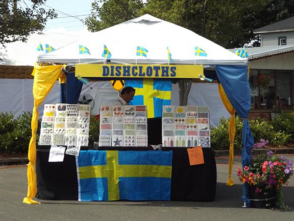 Scandinavian Festival-dishcloths