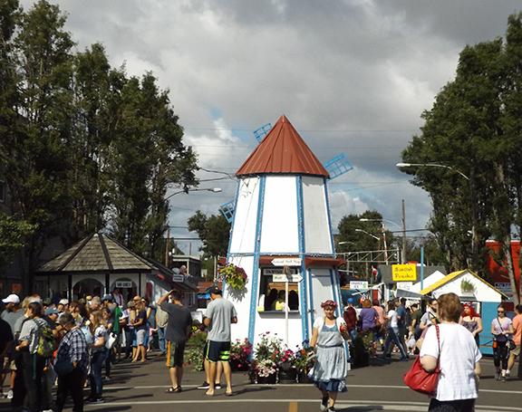 Scandinavian Festival-windmill