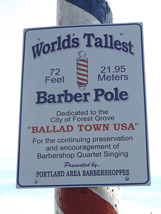 worlds-largest-barber-pole-sign-Forest-Grove-Oregon