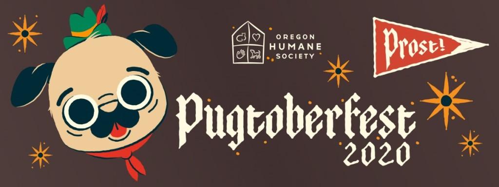 Dog Halloween Costume Contest Oregon 2020 Pugs on parade at Oregon Humane Society's Pugtoberfest in October